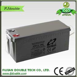 SLA battery 12v 180ah rechargeable flexible battery