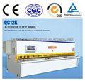 Guillotina hidráulica de placas metálicas QC11Y QC12Y Máquina de corte, precio de máquina automática neumática cortadora de placas