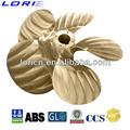 5 lâminas de bronze marine hélice( fpp)