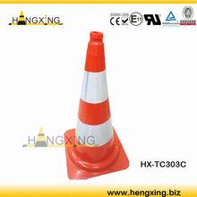 HX-TC303C PVC Soft traffic cone pylon