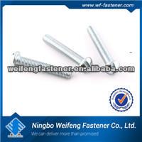 Hot zinc/black aluminum screw caps machine high quality box packed ningbo fastener manufacturers