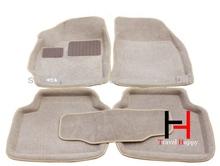 Special design black car floor mat for FORD MONDEO