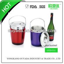 stainless steel plastic wine cooler