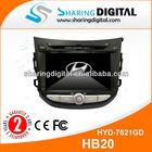 HYD-7821GD HYUNDAI HB20 with French language Car GPS System