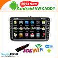 Android-system mit gps/bluetooth/tv/3g vwm-8698gda für vw caddy Cupra auto mp3-player