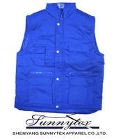 2013 Hot Selling Men blue fishing vest
