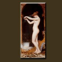 fatto a mano di alta qualità classico famoso pittore neoclassico ragazze pittura foto sesso donne nude