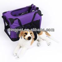 2014 Bright Purple Color Dog Carrier Box pet kennel