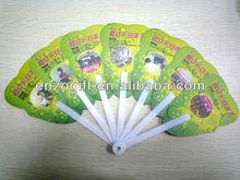 round folding fan, custom printed folding fan small plastic fan