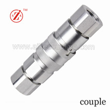 Flat Face Type Hydraulic Hose Quick Coupler/Disconnect Coupling