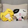 Cute happy cat plush toy
