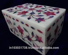 Kaleidoscope Dreams Fair Trade Marble Inlay Jewelry Box