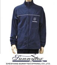 Microfiber Polar fleece branded jackets for men