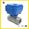 "1/2"" 9-24v stainless steel motorized water valve for Air-warm valve.HVAC and fire-flight sprinkler service"