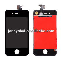 High quality cell phone lcd assembly for iphone 4 black