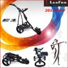 24 months Warranty Electric Golf Caddy Trolleys QUIKFOLD mechanism 36 Holes Battery Light Wegith