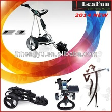 High Quality Electric Golf Trolley Adjustable Distance Control and USB GPS charging port