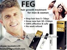 Hair building fibers FEG Hair Growth Solution / Excellent hair fall control & alopecia treatment product