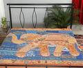 baratos colchas de cama tradicional de la hoja de la mirada étnica colcha de retazos