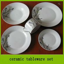 hot sale ceramic tableware set,dinnerware,tableware,ceramicware,porcelain ware