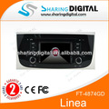 Sharingdigital ft-4874gd araç gps radyo çalar fiat linea 2009-2012