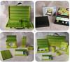 2014 shanghai cute green China paper pencil box