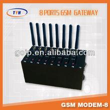 8 ports gsm modem wavecom module for sending bulk sms gsm wifi router