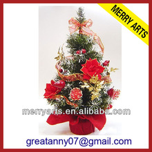 Holiday living decorative artifical christmas trees mini table top christmas tree for sale