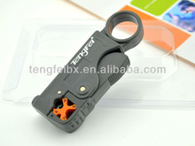 high quality new rotary coaxial cable stripper tool for RG58/59/62/6 cable