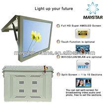 "17"", 19"", 22"", 24"", 32"" Network Wireless 3G WIFI HD Ad LCD Bus Screen"