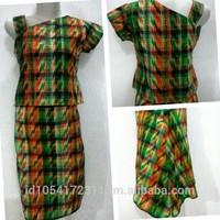 Dress Tenun Makassar