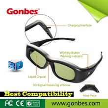 Active shutter 3d eyewear
