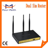 F3B32 Industrial failover 3g dual sim dual 3g module router bonding router 3g