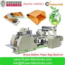 2014 V Shape Bottom Paper Bag Making Machine
