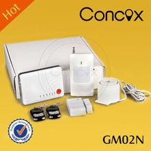 Concox power failure alarm 220v GM02N safety equipment with smoke detector/ PIR sensor for home/office/garage/ villa