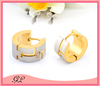 Sexy ring type stainless steel clip-on mens earring body piercing jewelry