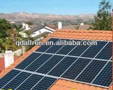 2014 High efficiency A grade tempered glass solar