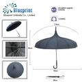 très bon marché de gros parapluie pagode fabricant de la chine