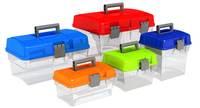 Storage Plastic Box / Organizer 4 - 16 liters / Handle Storage Box /