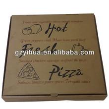 Various size pizza box in bulk