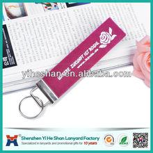 2014 cheap promotional customize felt key rings fobs