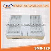 channel sim bank 128 port voip/gsm voip gateway 8 line