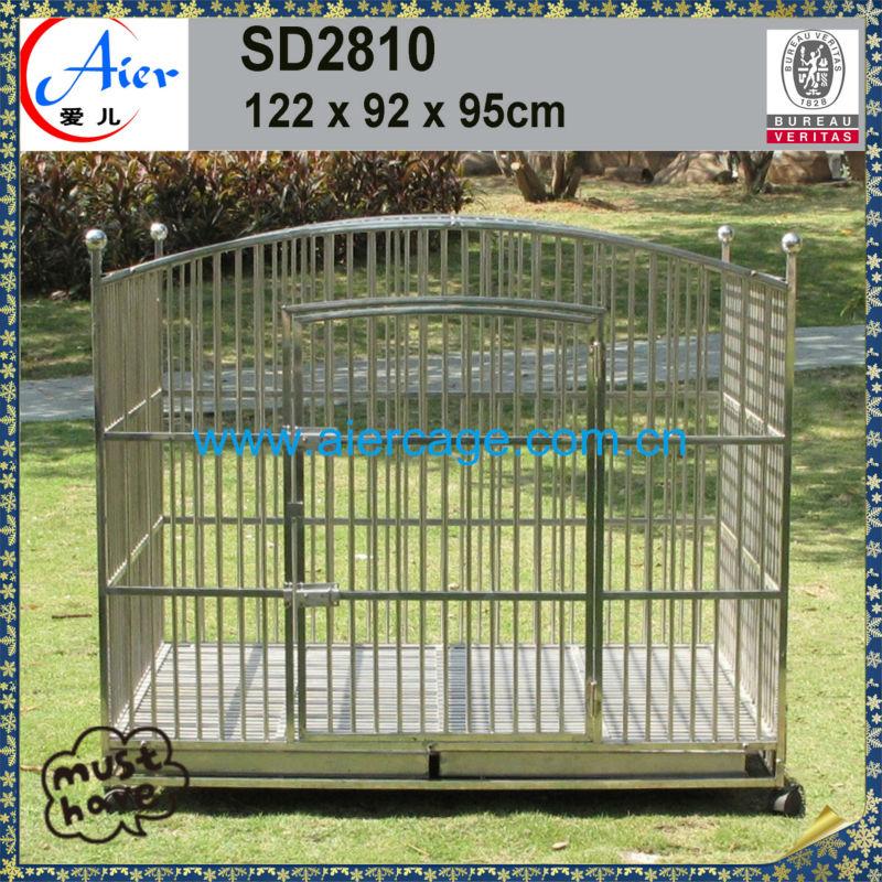 Large dog cage steel outdoor dog kennel