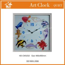 Durable internet 24 hour analog wall clock