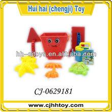 Cheap kids beach toy set mini beach bucket toy for sale