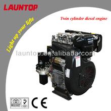 20hp Air Cooled 2 Cylinder Diesel Engine