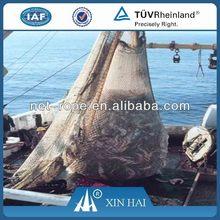 380D/500D HDPE/PE Polyethylene multifilament knotted netting for Tuna fish, large tuna fishing net,tuna fish net