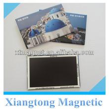 Size 5.5*8 cm Greece Scenery Printed Tin Plate Fridge Magnet /Custom Metal Fridge Magnets