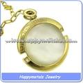Corrente de ouro e pingente de zircão colar jewerly( n0016- 1(1))