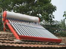 Non pressurized all glass tube vacuum Mexico solar water heater 200liters